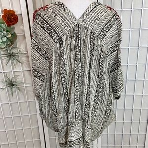 Free People Tops - Free People Tribal Embroidered Tunic